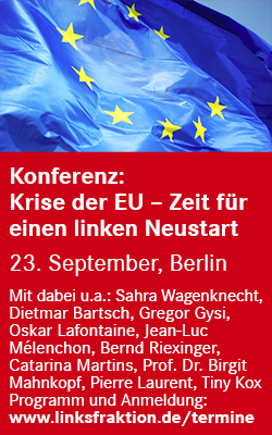 Europa-Konferenz der Linksfraktion am 23.09.2016